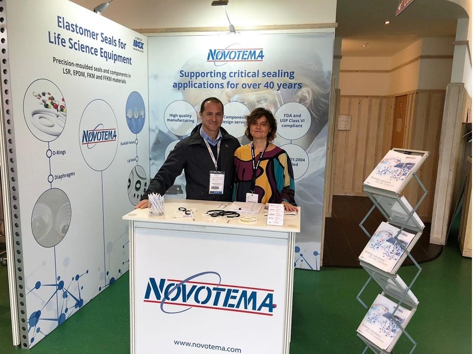 Novotema exhibits at Medical Technology Ireland 2018